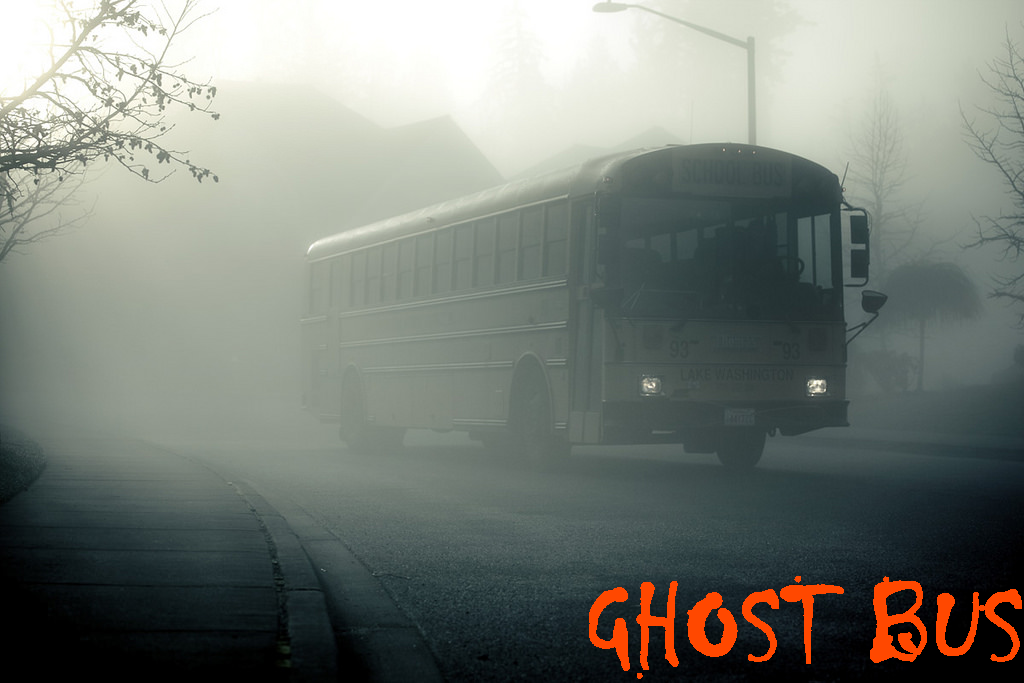 ghost bus ride to hell